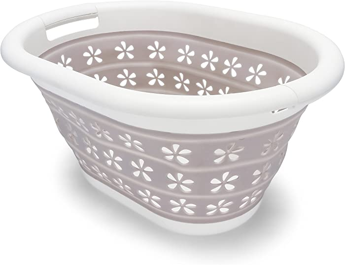 The Best Collapsible Plastic Laundry Basket Medium