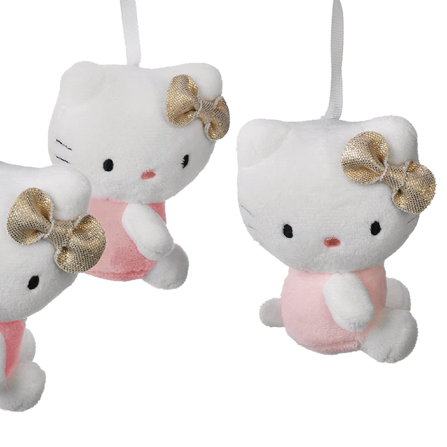 Lambs /& Ivy Hello Kitty Pink//Gold//White Musical Baby Crib Mobile 692018
