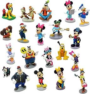 Disney Mickey Mouse and Friends Junior Mega Figure Set