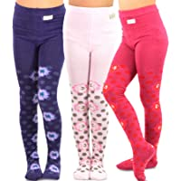 TeeHee (Naartjie) Kids Girls Fashion Cotton Tights 3 Pair Pack