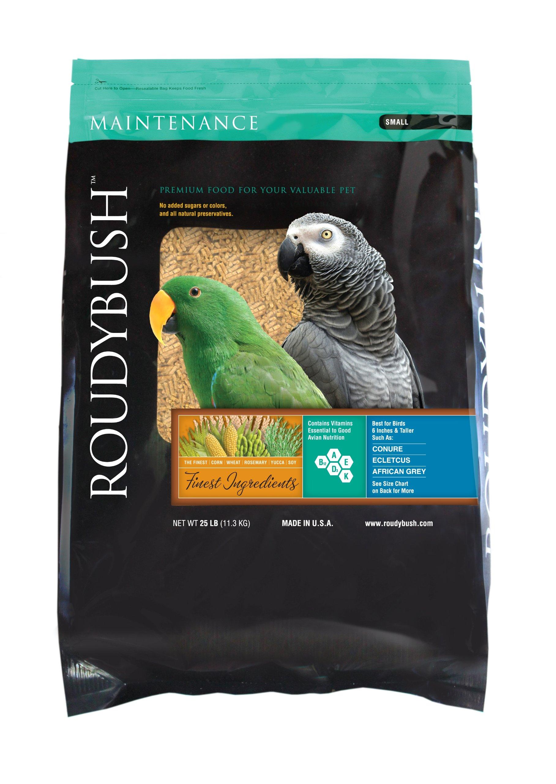 RoudyBush Daily Maintenance Bird Food, Small, 25-Pound by RoudyBush