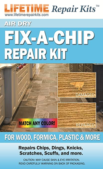 Air Dry Fix A Chip Wood Formica Repair Kit Amazon Kitchen