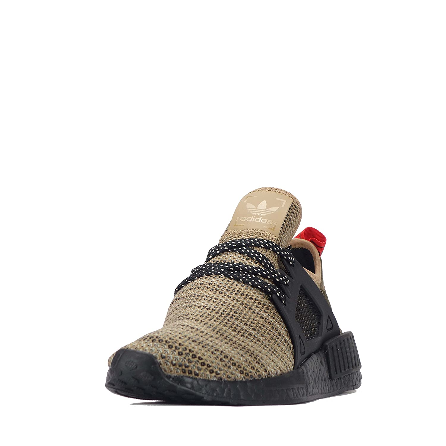 adidas Adidas NMD xr1, Baskets Mode pour Homme Cardboard Noir Rouge