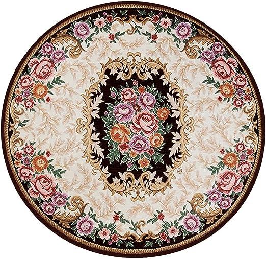 Dxj tapetes Circulares Estilo Europeo para Alfombra/Felpudo/Escalera/salón/Dormitorio: Amazon.es: Juguetes y juegos