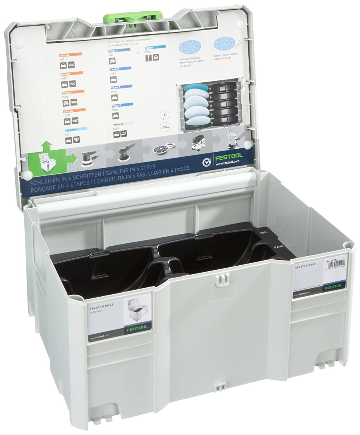 Festool/ /Coffret Systainer T-LOC SYS STF d 150/4S