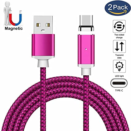 Amazon.com: Cable de carga USB tipo C magnético, cable de ...