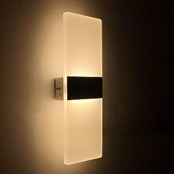 16W LED Deckenstrahler Badleuchte Schlafzimmer Wandleuchte Weiß Modern Design