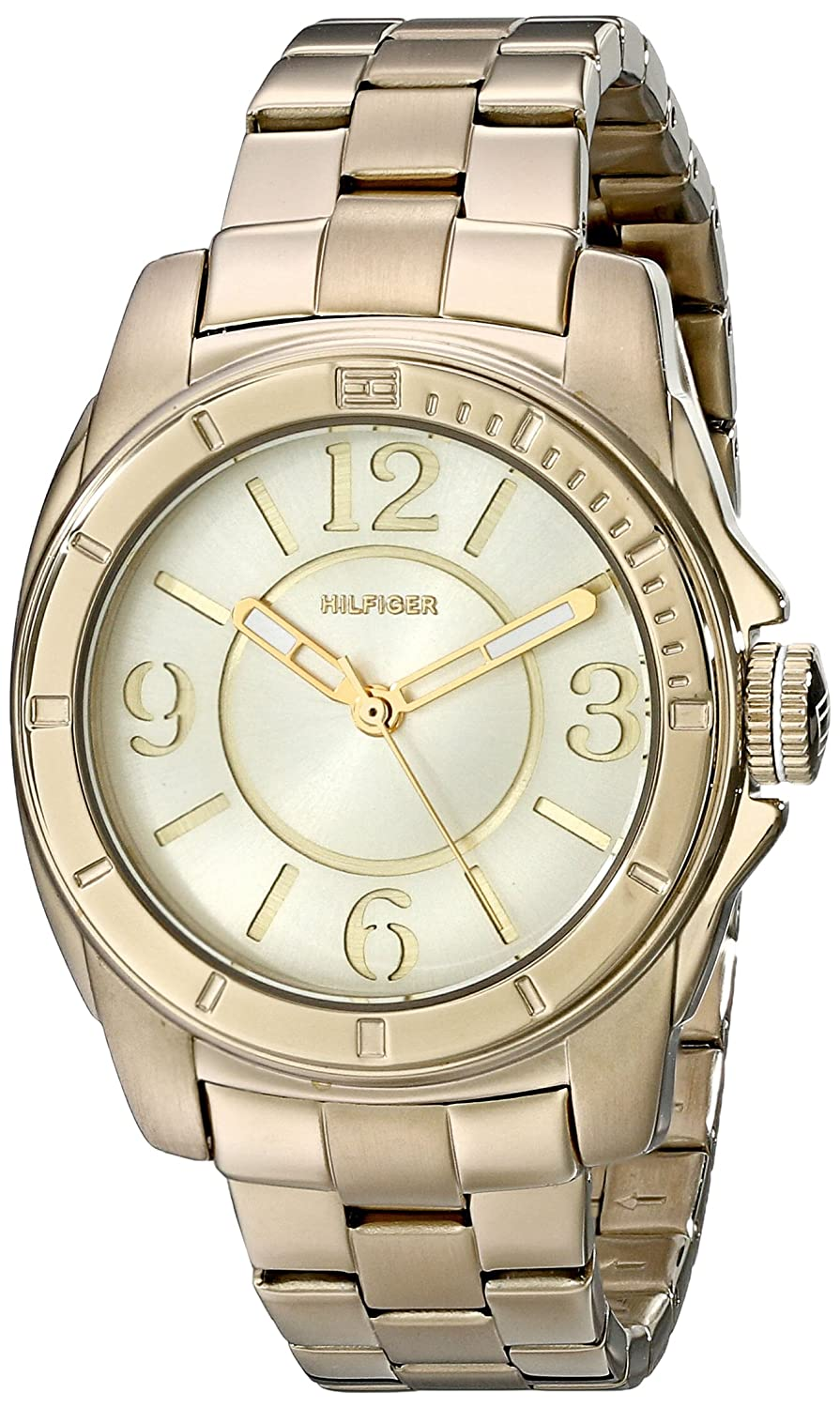5d5460c02 Amazon.com: Tommy Hilfiger Women's 1781139 Gold-Plated Watch: Tommy Hilfiger:  Watches