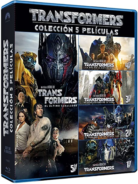 Pack: Transformers 1-5 [Blu-ray]: Amazon.es: Mark Wahlberg ...
