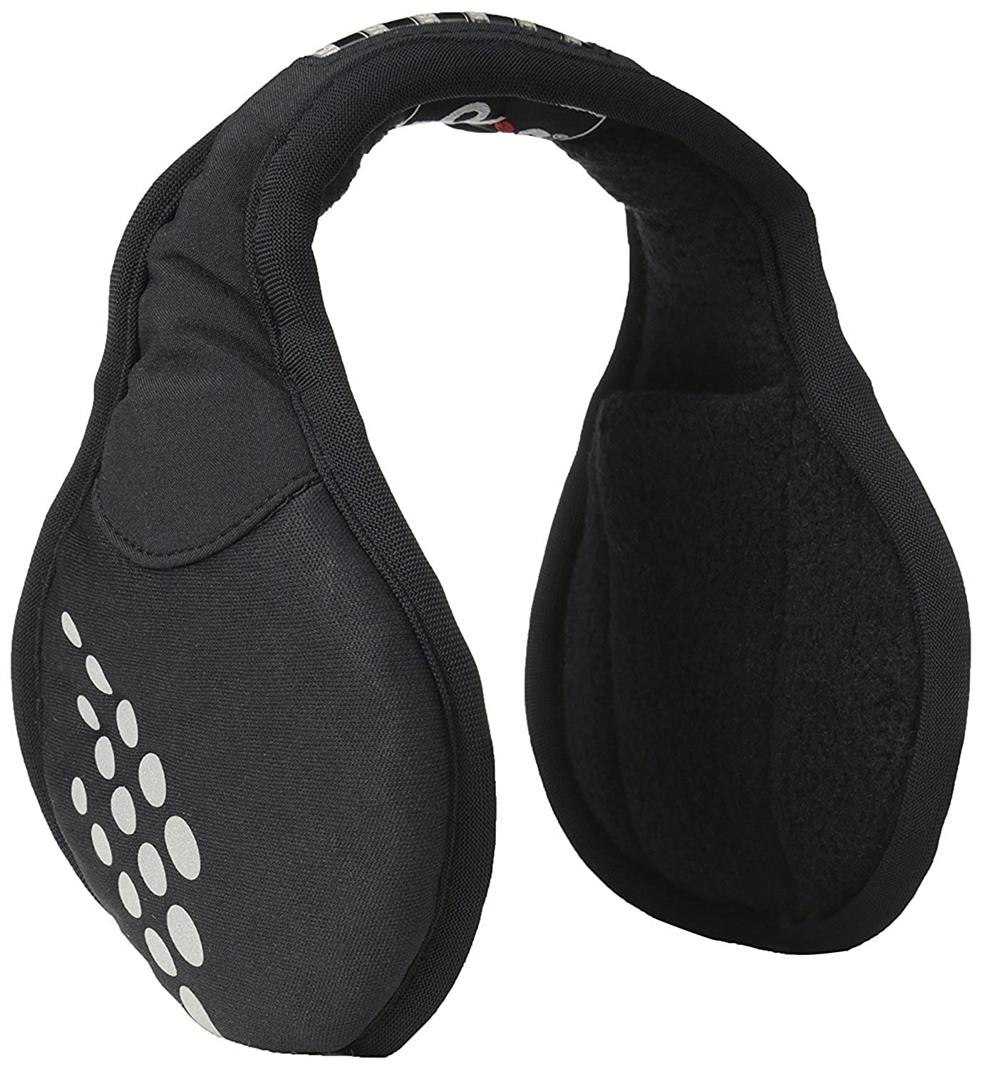 180s LED Ear Warmer Muffs with Integrated LED Strobe Safety Light