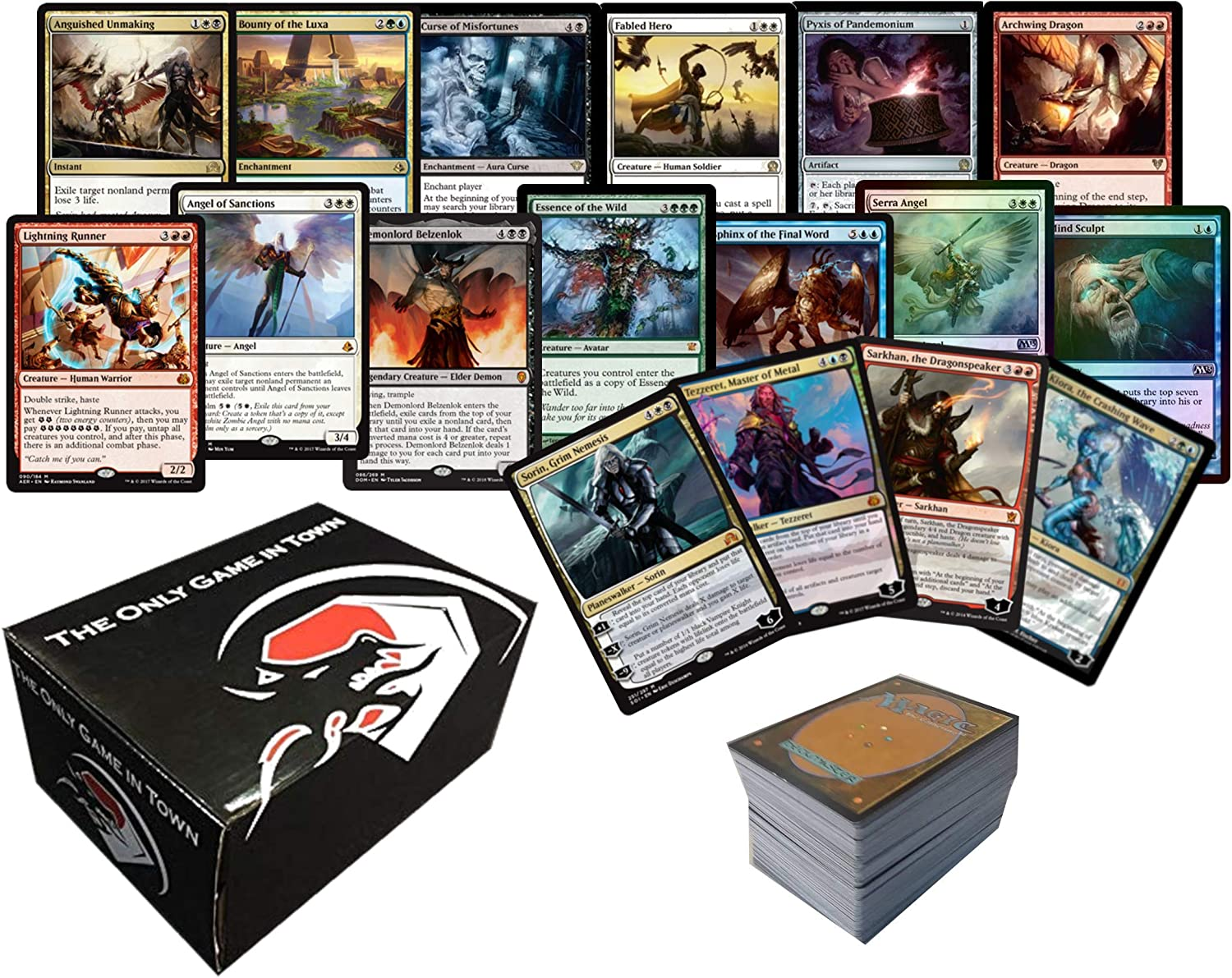Random MtG Magic cards Collection 500 WHITE Commons and Uncommons