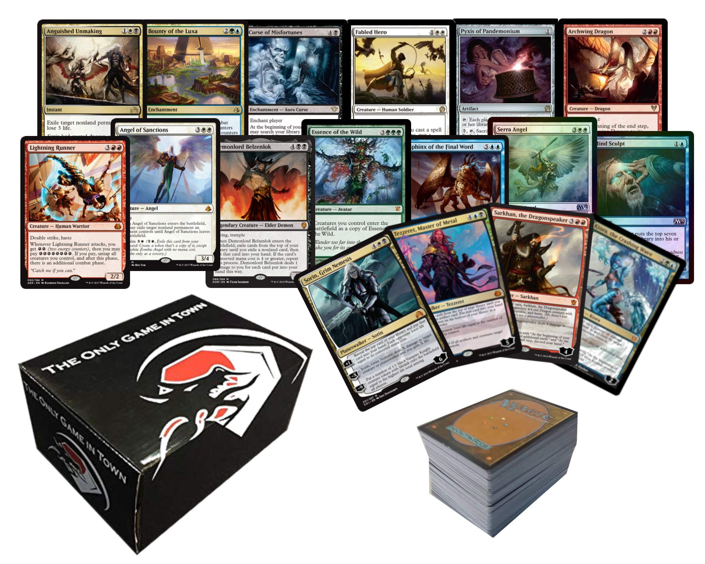 1000 Assorted Magic: The Gathering Cards Planeswalker Collection Includes The Only Game In Town Storage Box by The Only Game In Town (Image #1)