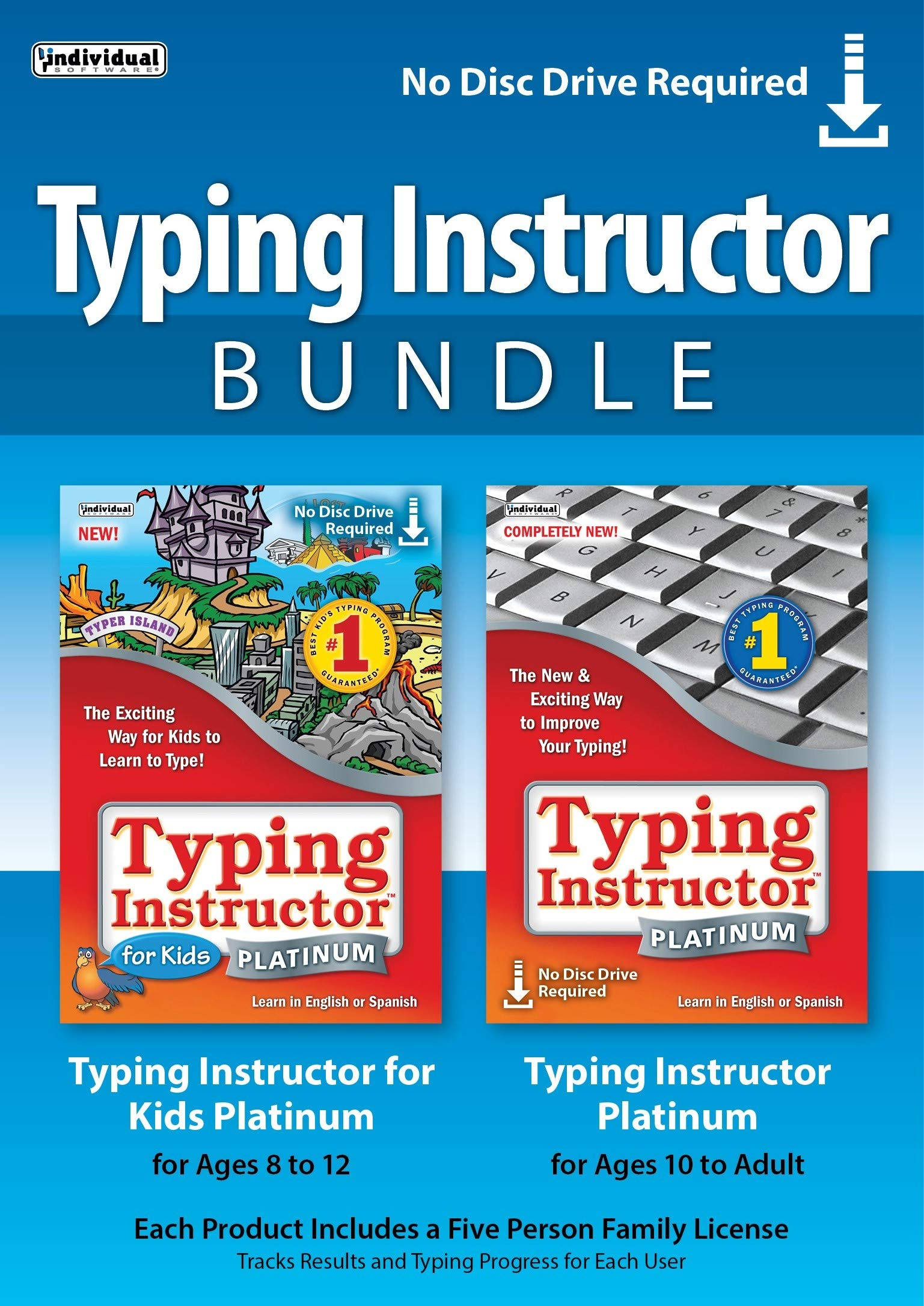 Typing Instructor Bundle [PC Download] by Individual Software