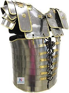 Amazon com : Roman Lorica Segmentata Body Armor Breast Plate