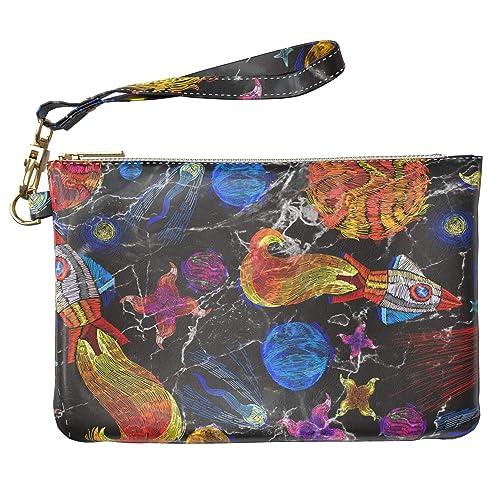 f62d99a34124 Amazon.com: Lex Altern Makeup Bag 9.5 x 6 inch Embroidered Cute ...