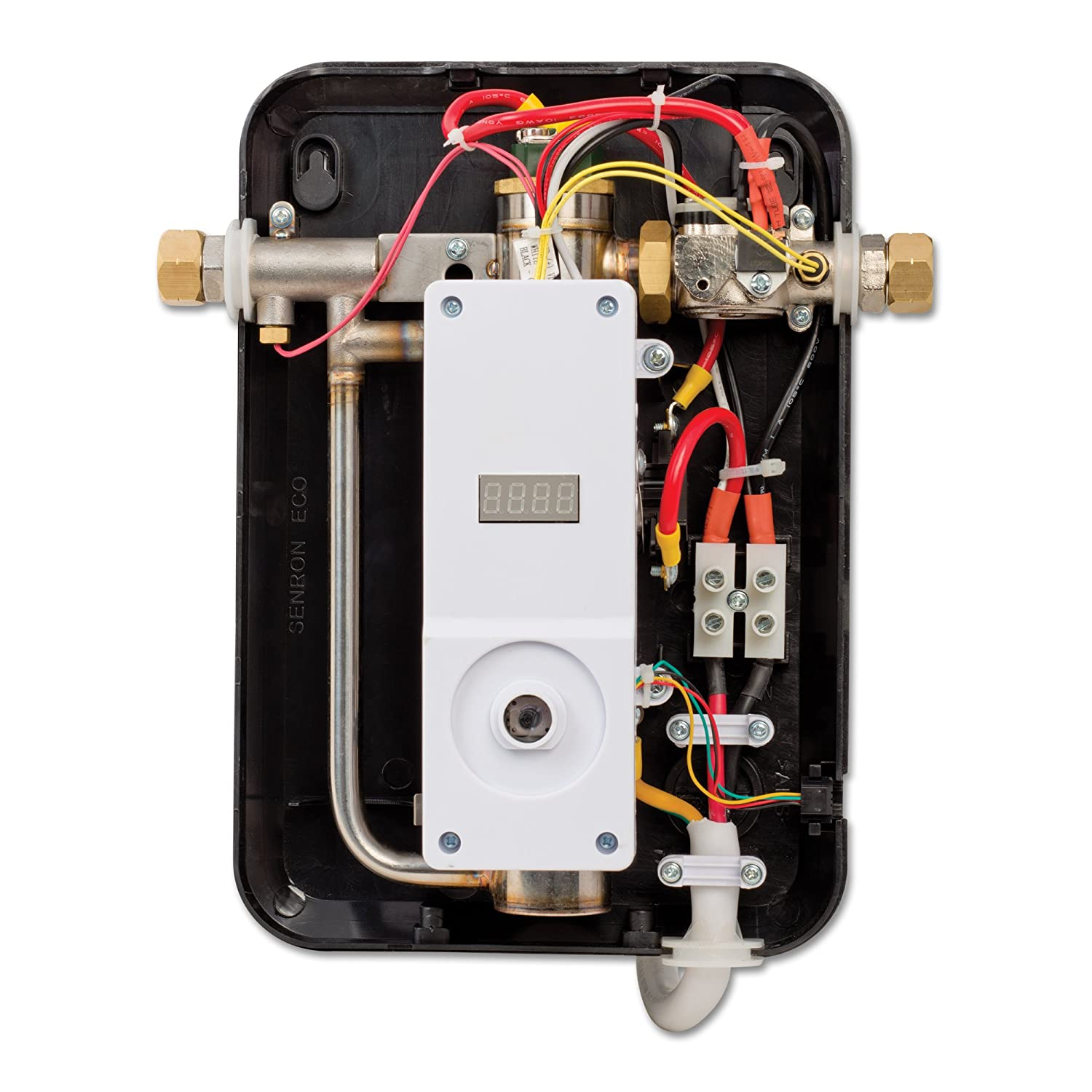 Ecosmart 8 Kw Electric Tankless Water Heater At 240 Volts With 10 Furnace Wiring Diagram Patented Self Modulating Technology Waterheater