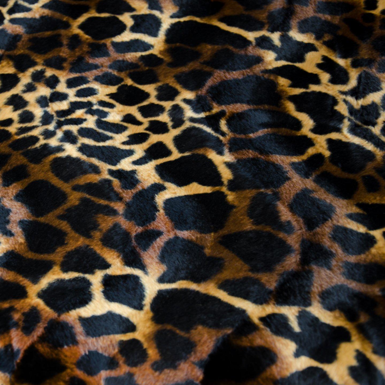Esclusiva Pelliccia sintetica - materiale al metro in stampa animalier Pure Textilien