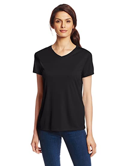 31688049 Hanes Sport Women's Cool DRI Performance V-Neck Tee at Amazon ...