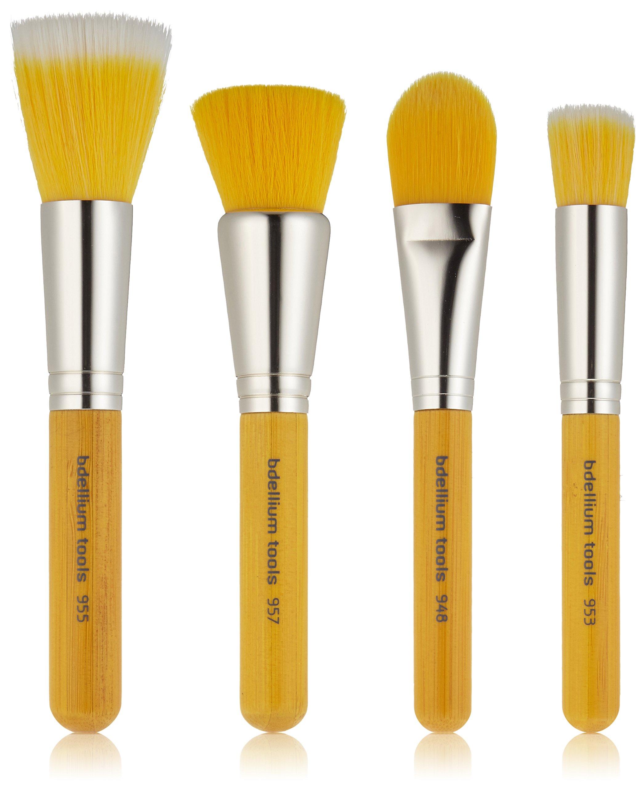 Bdellium Tools Special Edition Bambu Foundation Set, Yellow by Bdellium Tools
