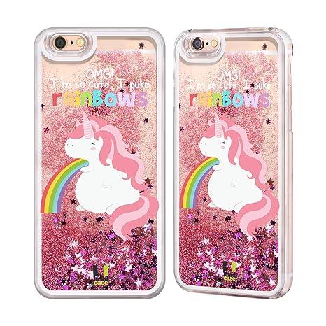 coque iphone 6 licorne liquide