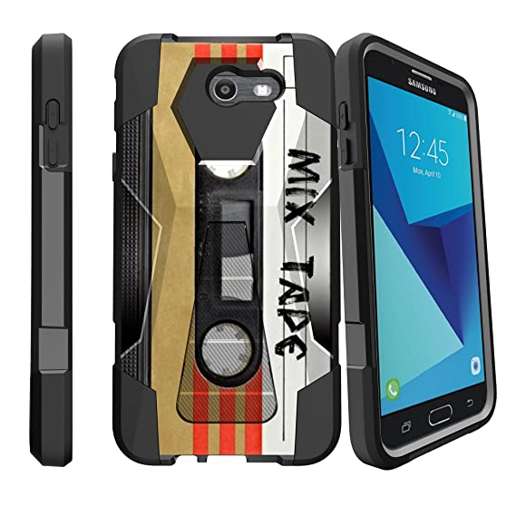 MINITURTLE Phone Case Compatible w/ J7 2017, J7 Perx, and Galaxy J7 Sky