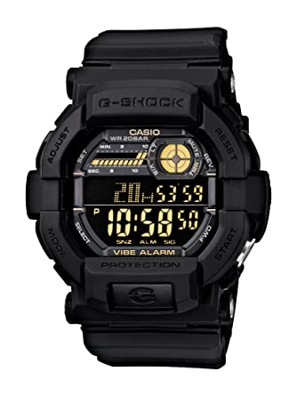 a31f9fb02 Amazon.com  Casio Men s GD350-1B G Shock Black Watch  Casio  Watches