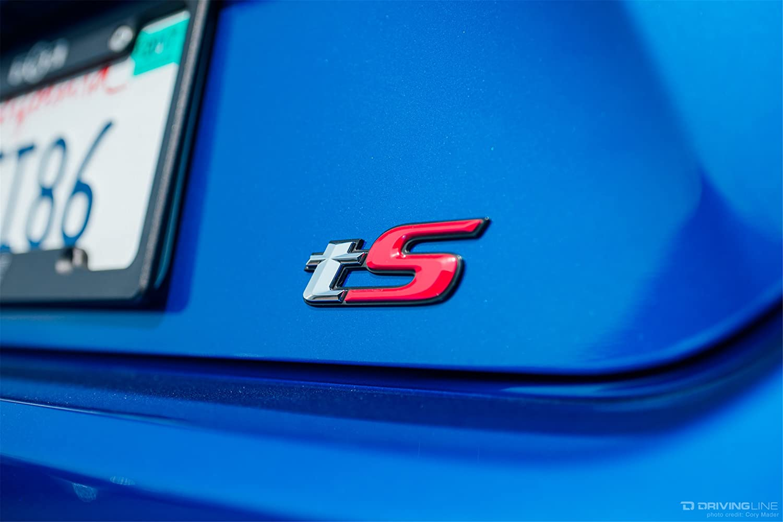 Subaru TS emblema para WRX STI BRZ y Forester: Amazon.es: Coche y moto