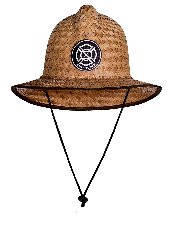 Saint Florian Clothing Straw Firefighter Hat Large//XL 60cm
