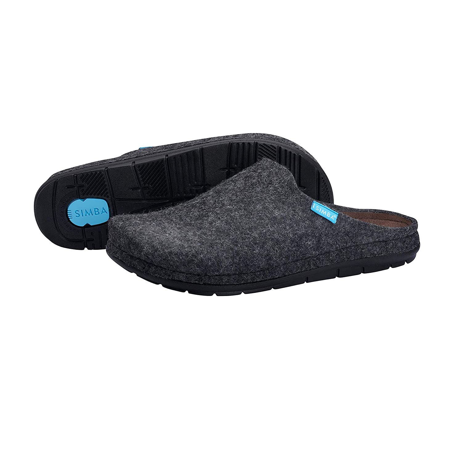 c990ab023fcc SIMBA Natural Wool House Slippers for Women with Massage Pressure Points -  Soft Latex Inner Sole