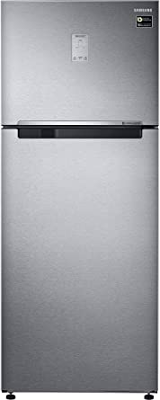 Samsung 465 L 4 Star Frost Free Double Door Refrigerator(RT47M623ESL/TL, Real Stainless, Convertible, Inverter Compressor)