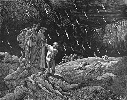 Amazon Com Dante Inferno Ndante And Virgil In The Second