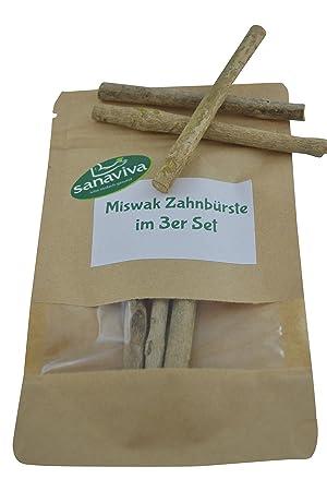 miswak SWAK siwak – El africana de madera para cepillos de dientes para la boca Higiene