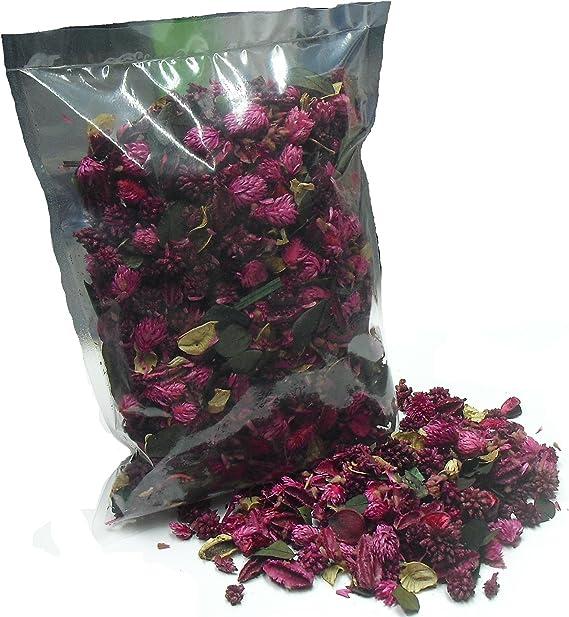 MERCAVIP Thermovip Formato S/úper Ahorro de 400gr. Popurr/í perfumado de Flores secas Color Amarillo