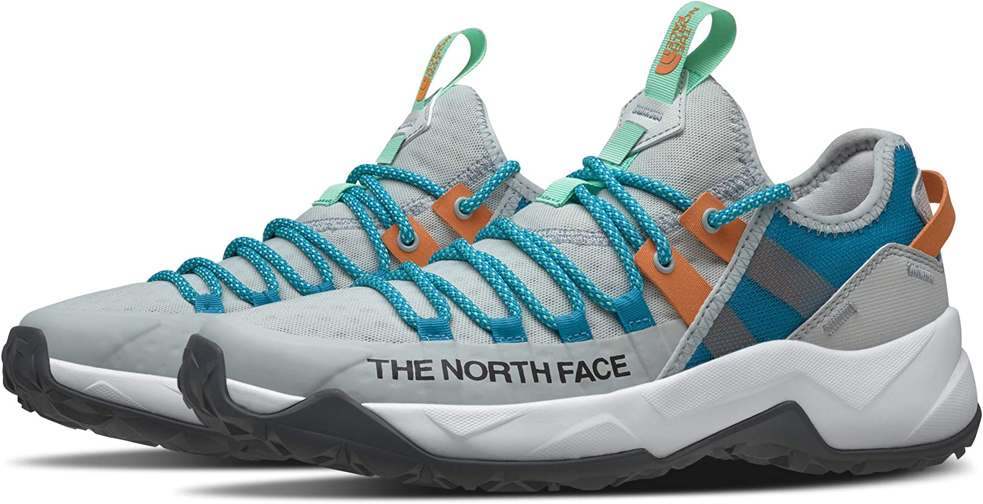 The North Face Trail Escape Edge Tin Grey/Caribbean Sea 5.5 B (M ...