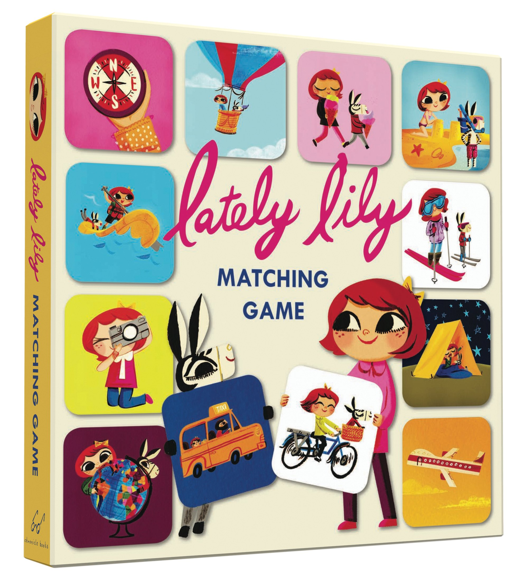 Lately Lily Matching Game by Chronicle Books (Image #1)