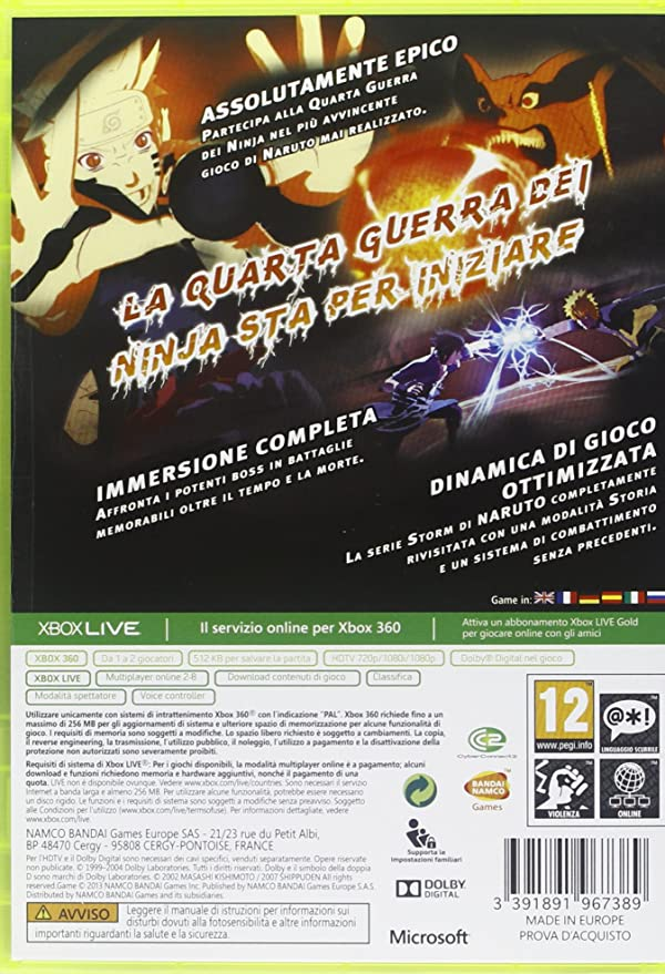 Naruto Shippuden: Ultimate Ninja Storm 3 - Day One Edition ...