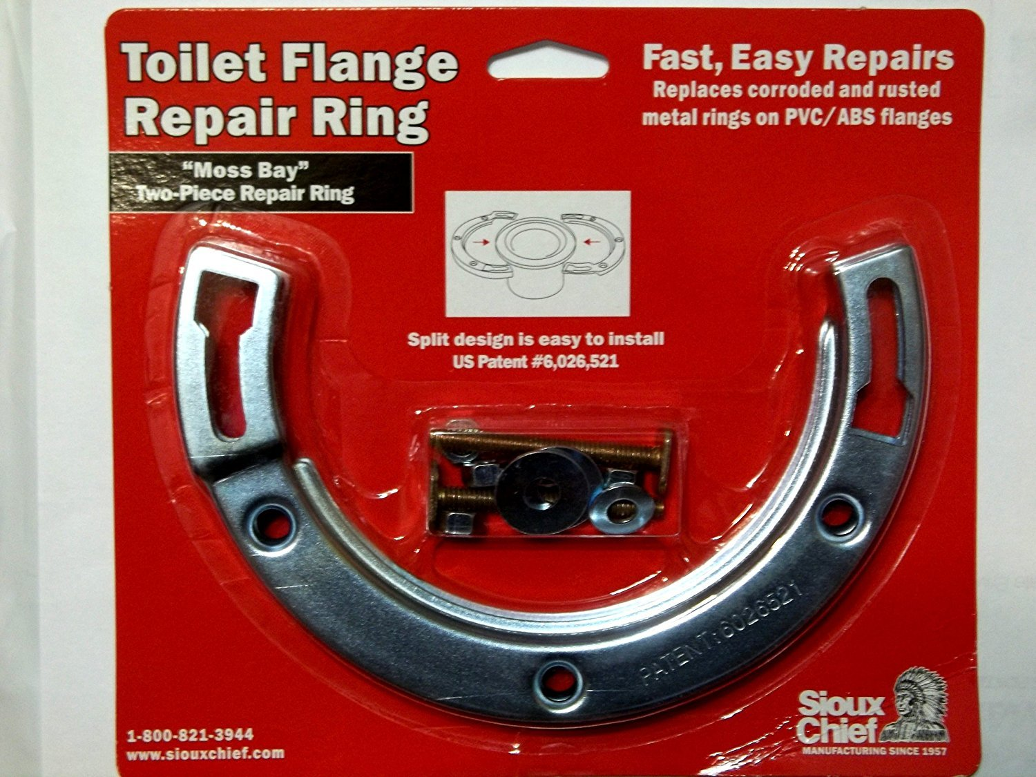 Amazon.com: Sioux Toilet Flange Repair Ring: Home Improvement