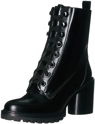 Marc Jacobs Women's Ryder Lace up Ankle Boot, Black, 35.5 M EU (5.5