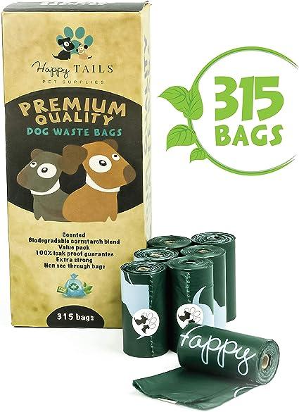 Happy Tails Pet Supplies 315 Bolsas Para Recoger Excremetos De ...