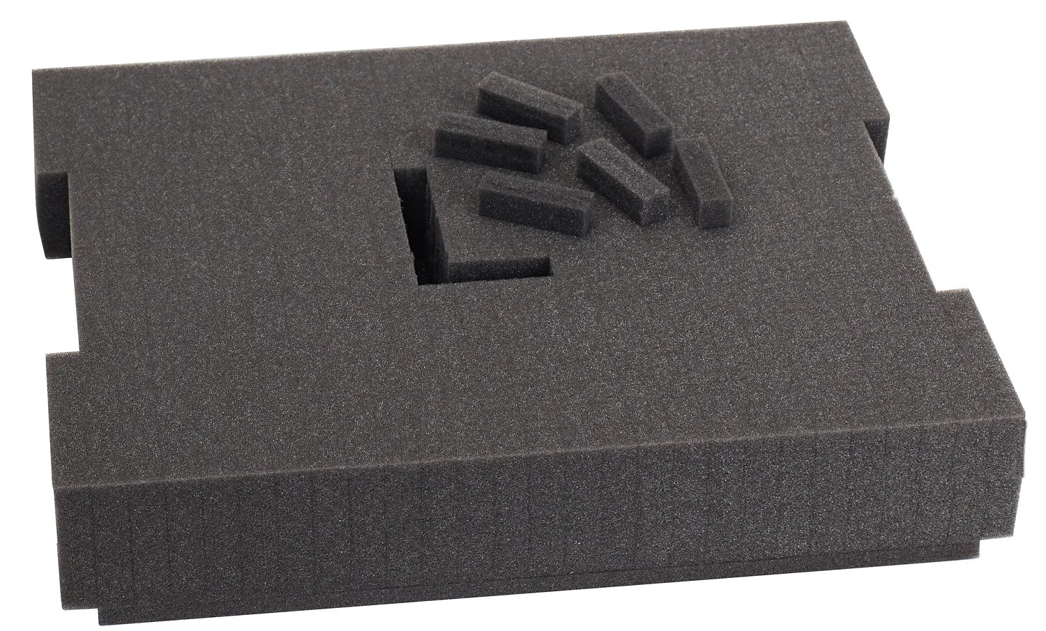Bosch Foam-201 Pre-Cut Foam Insert 136 for use with L-Boxx2, Part of Click and Go Mobile Transport System by Bosch