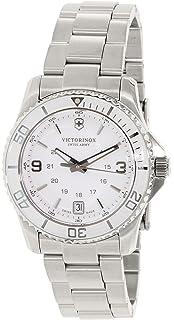 Victorinox Swiss Army Womens Maverick 241699 Silver Stainless-Steel Swiss Quartz Watch