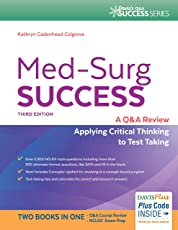 Amazon clinical nursing books medical surgical maternity med surg success a qampa review applying critical thinking to test taking fandeluxe Choice Image