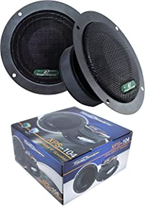 "2X Sealed Back 4"" 600W Mid Range Car Audio Speaker XPS-104"