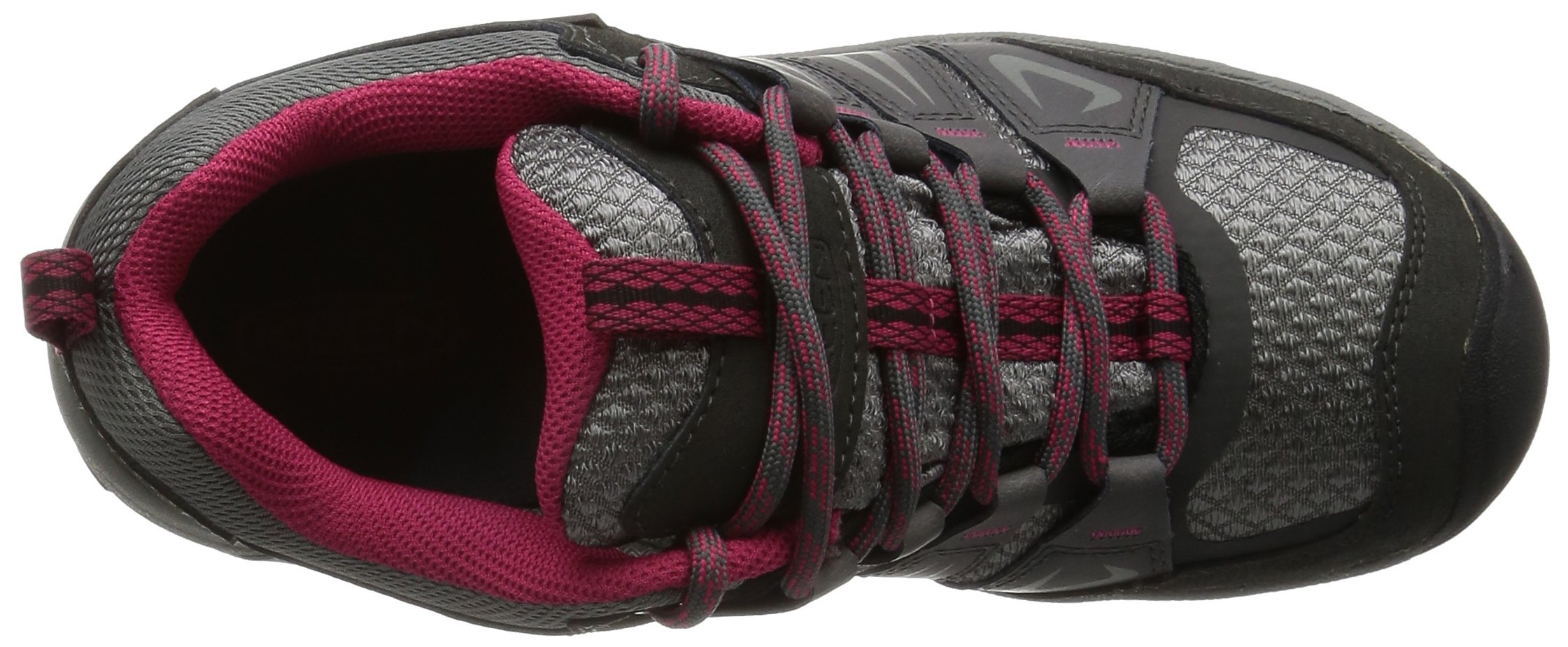 KEEN Women's Oakridge Waterproof Shoe, Magnet/Rose, 9 M US by KEEN (Image #8)