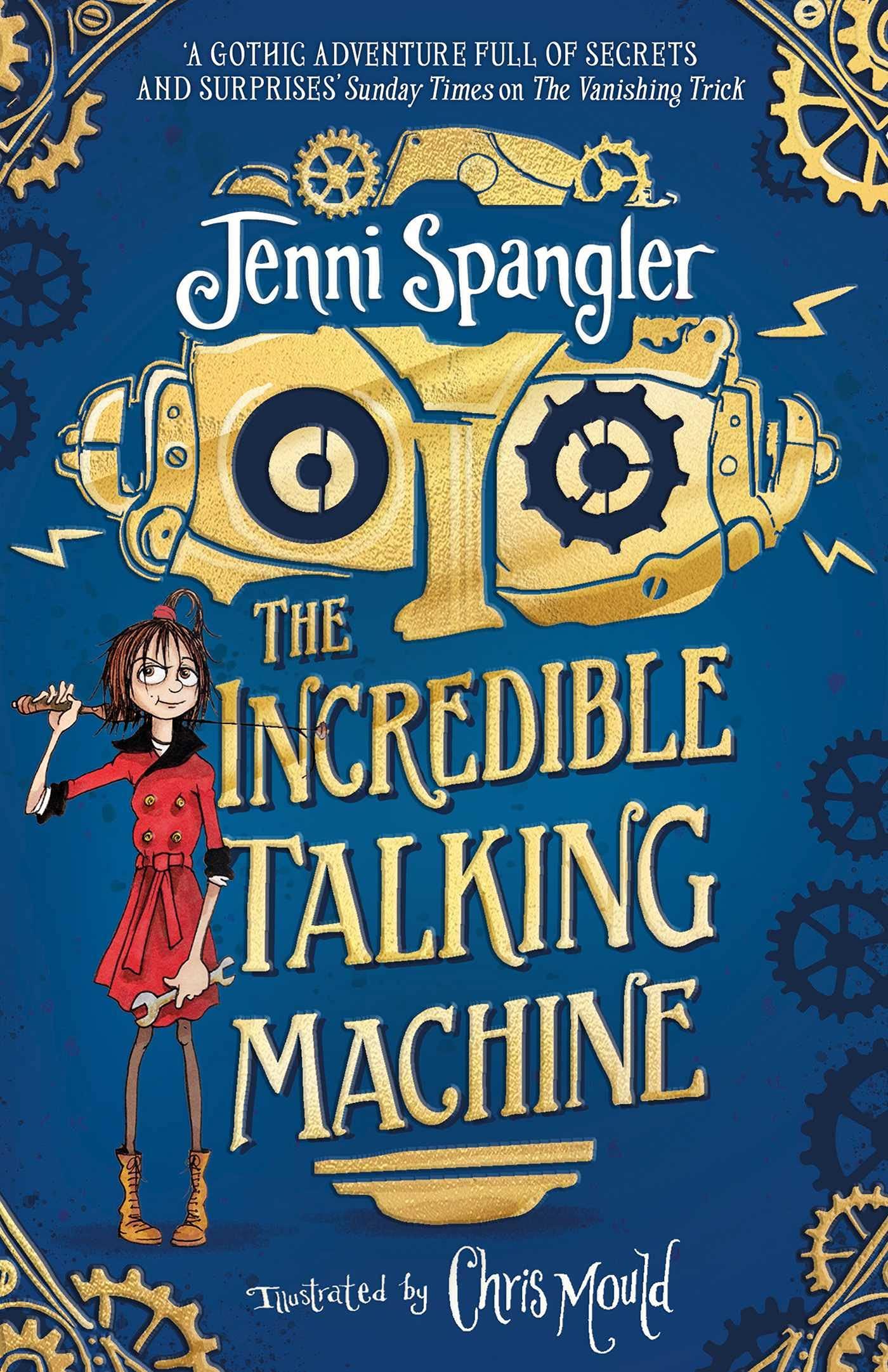 The Incredible Talking Machine : Spangler, Jenni, Mould, Chris:  Amazon.co.uk: Books