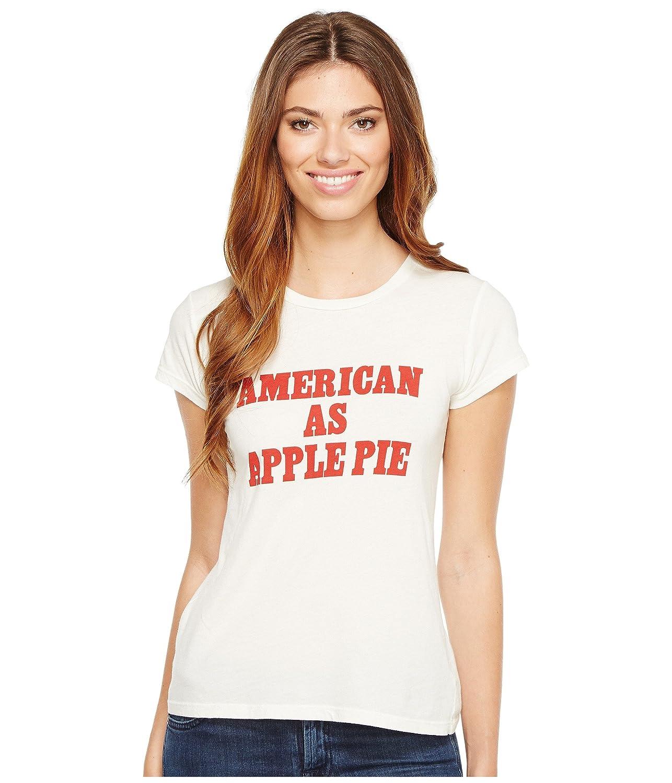 [プロジェクトソーシャルティー] Project Social T レディース American as Apple Pie トップス [並行輸入品] B071JXFS8Z Small|Off-White Off-White Small