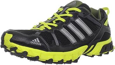 adidas Thrasher TR Trail Tenis para Correr para Hombre, Negro (Black/Neo Iron Metallic/Lab Lime), 45 EU: Amazon.es: Zapatos y complementos