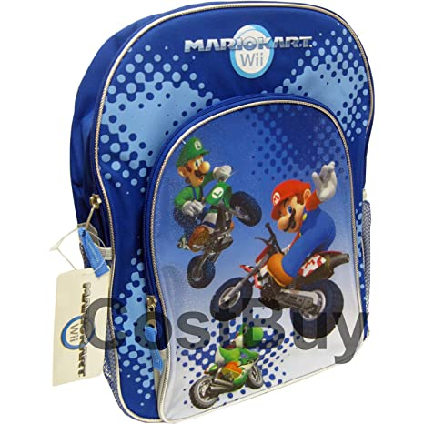 Nintendo Super Mario Bros. Wii mochila Bag - mochila