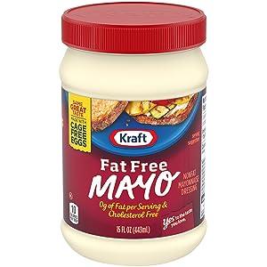 Kraft Mayo Fat Free Mayonnaise (15 oz Jar)