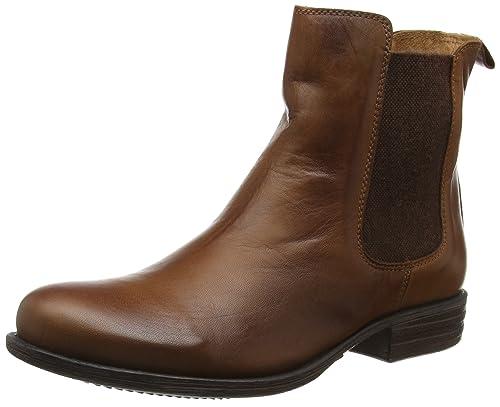 Moda In Pelle CALISIA, Botines para Mujer, marrón (Tan), 38 EU: Amazon.es: Zapatos y complementos